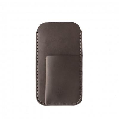 Phone/Card Sleeve | Charcoal