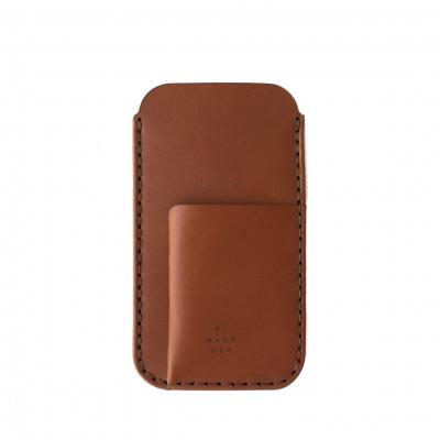 Phone/Card Sleeve | Saddle Tan