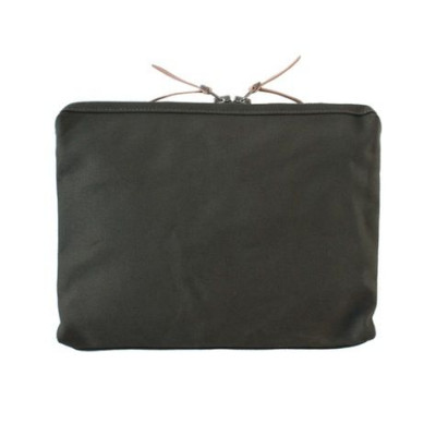Large Organizer Pouch | Army Green Canvas