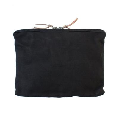 Large Organizer Pouch | Black Canvas