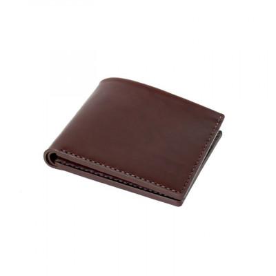 Open Billfold Wallet | Ox Blood Horween Chromexcel Leather