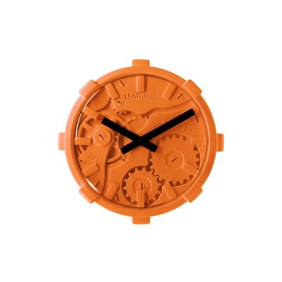 Wanduhr Mono | Orange