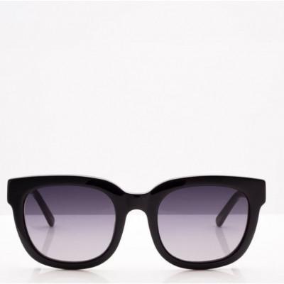 Sonnenbrille Unisex Malibu | Schwarz