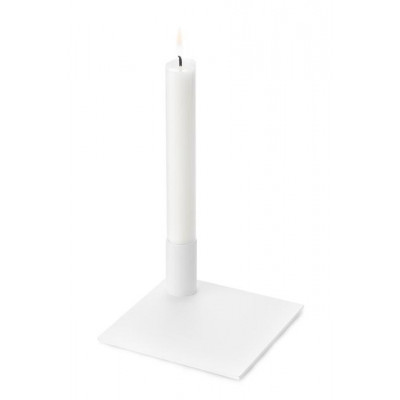 Candle Holder Square | White
