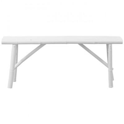 Mandisa Bench | White