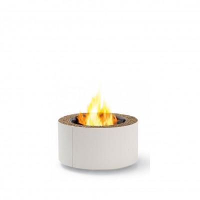 Mangiafuoco Fire Pit | White