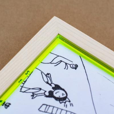 RAM'N Frame | Maple Green Acryl