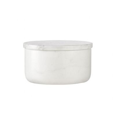 Martha Schale aus weißem Marmor
