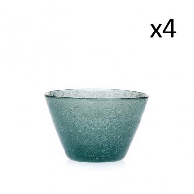 Schale Marco Polo 4er-Set   Eisblau
