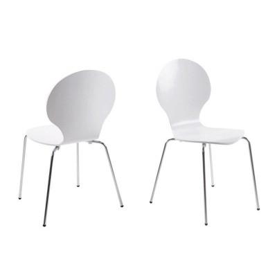 Esszimmerstühle Marcus | 4er-Satz | Weiß