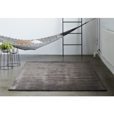 Teppich Earth Bamboo | Warmes Grau