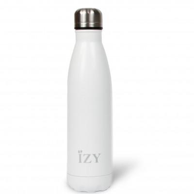 Thermo Trinkflasche 500ml | Weiß