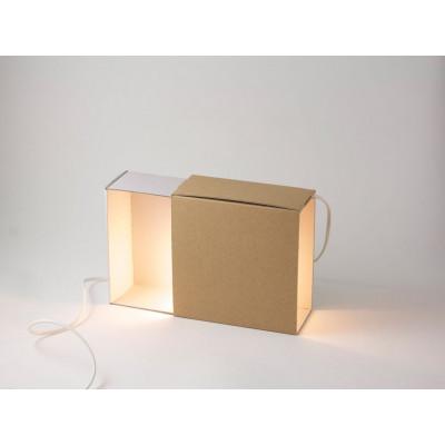 Streichholzschachtel Licht Weiß