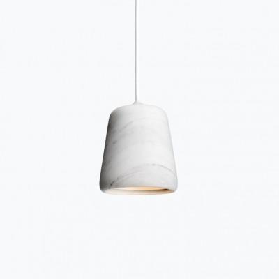 Material Pendelleuchte | Weißer Marmor