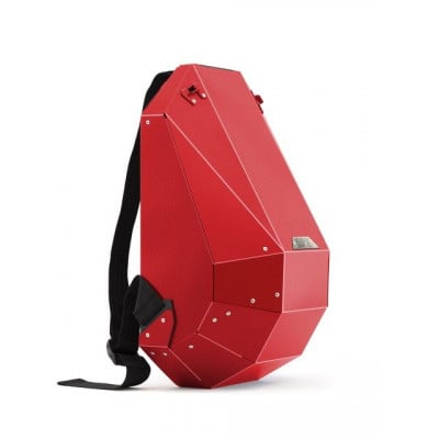 Backpack   Matte Red