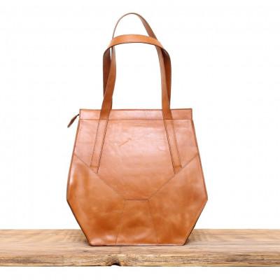 Belle XL Bag   Cognac