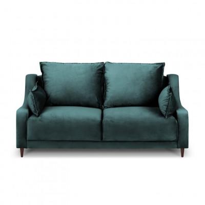 2-Sitzer-Sofa Samt Freesia | Petrol