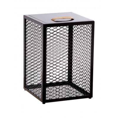 Beistelltisch / Schemel / Aufbewahrungskiste The Cube | Braun