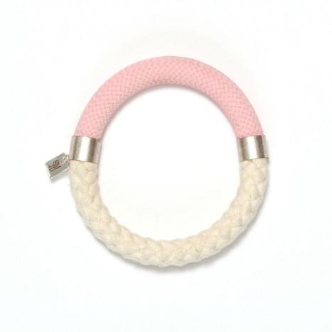 Mae Bracelet Vanilla-Grey