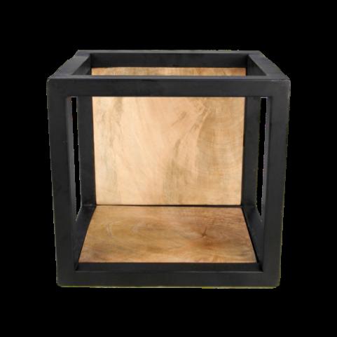 Wall Box Levels 25x25 cm Mango Wood