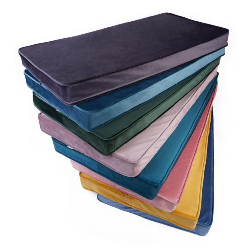 Matratze / Spielmatte für Kinder Velour | Turquoise