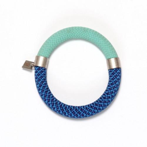 Mae Bracelet Pistache-Blue