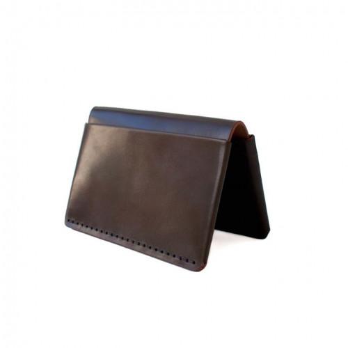 Horizon Four Wallet | Dark Cognac Horween Shell Cordovan Leather
