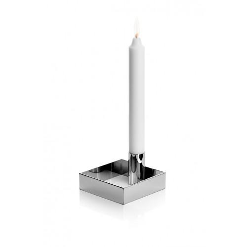 Candle Holder Edge | Chrome