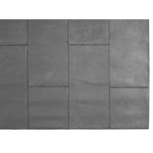 Lederteppich | Grau
