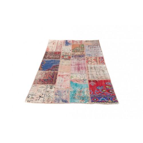 Patchwork-Teppich Vintage | Natur bunt