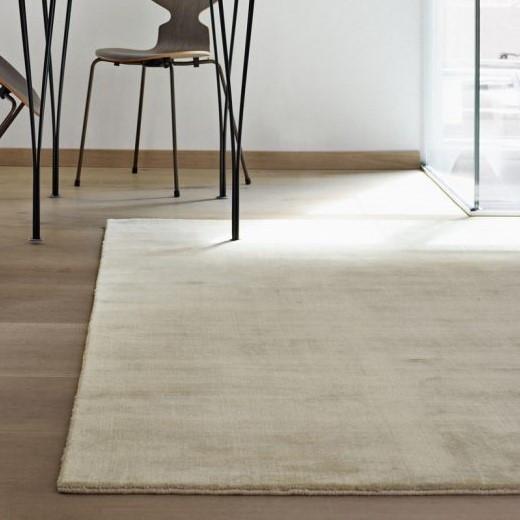Teppich Earth Bamboo   Sanftes Grau