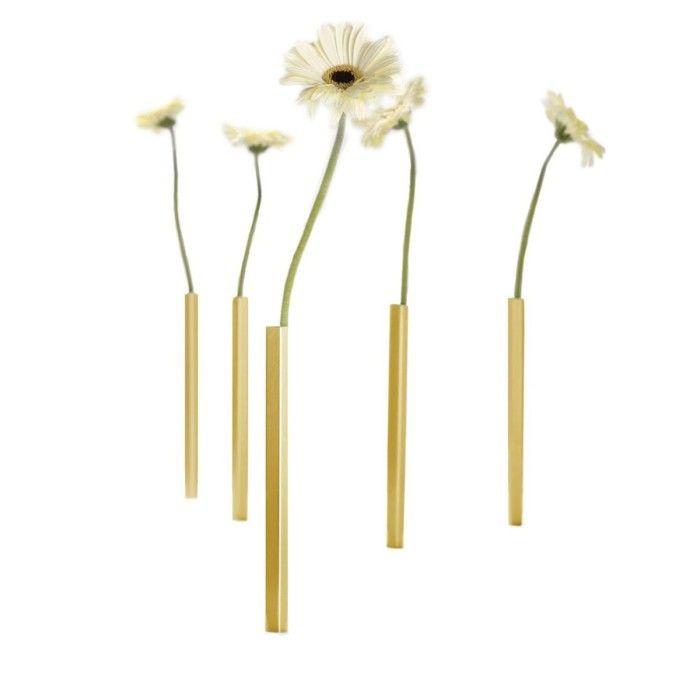 Vases Magnétiques Set de 5 | Or