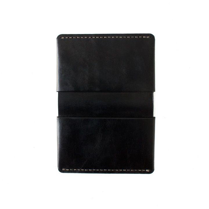 Horizon Four Wallet | Black Horween Chromexcel Leather