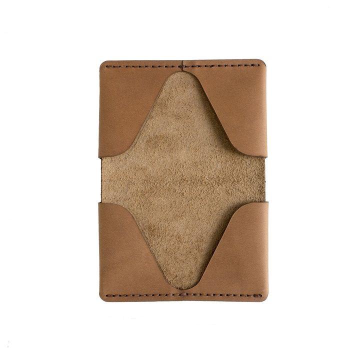Horizon Four Wallet   Tobacco Horween Latigo Leather