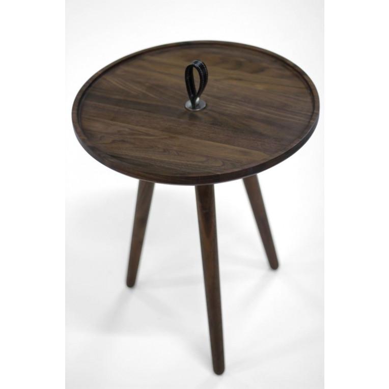 MALIN Side Table   Walnut