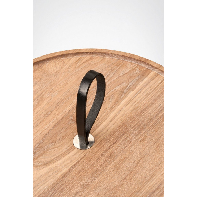 MALIN Side Table   Oak-Without Glass