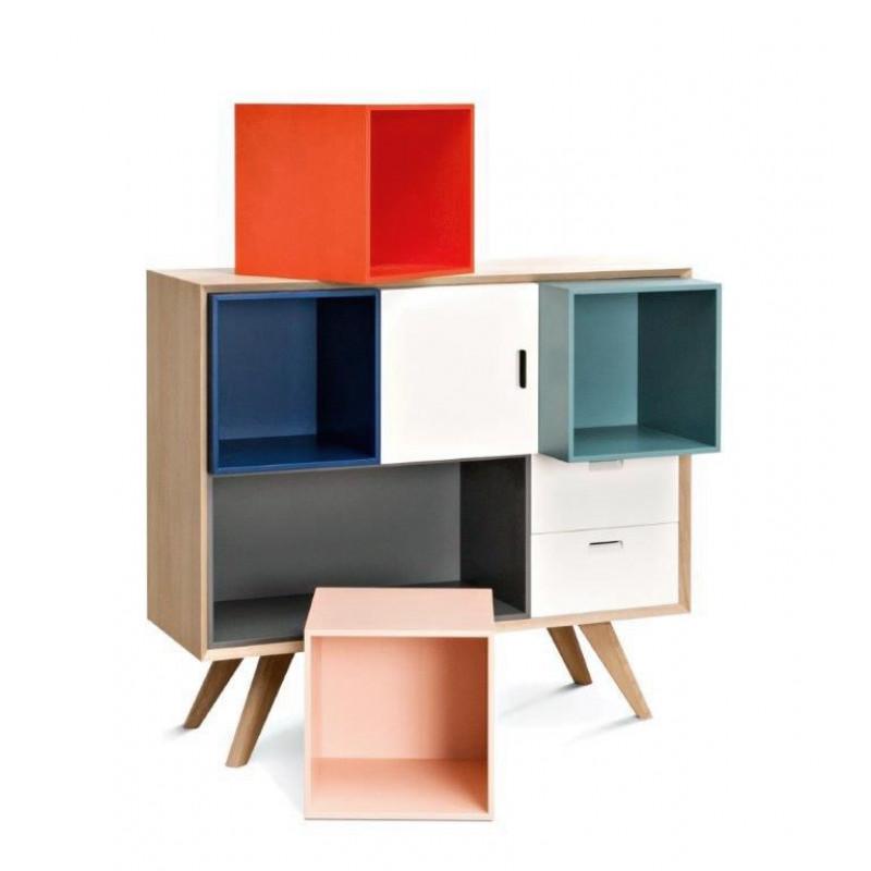 BoxMove Quadratische Box | Rose