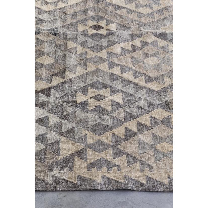 Teppich Natural Kelims | Hellgrau
