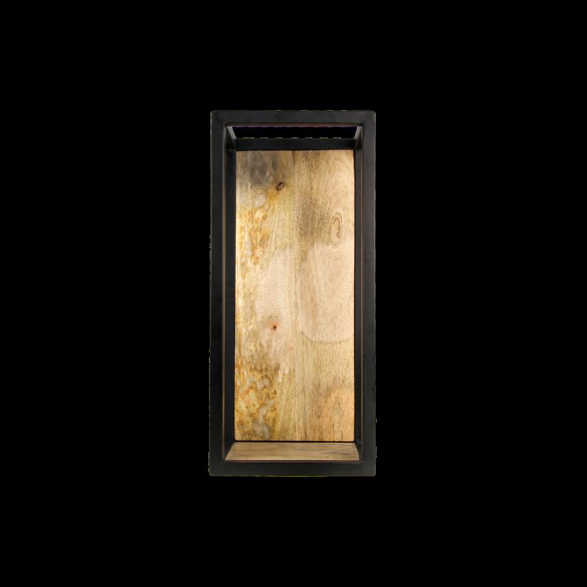 Wall Box Levels 25x55 cm Mango Wood