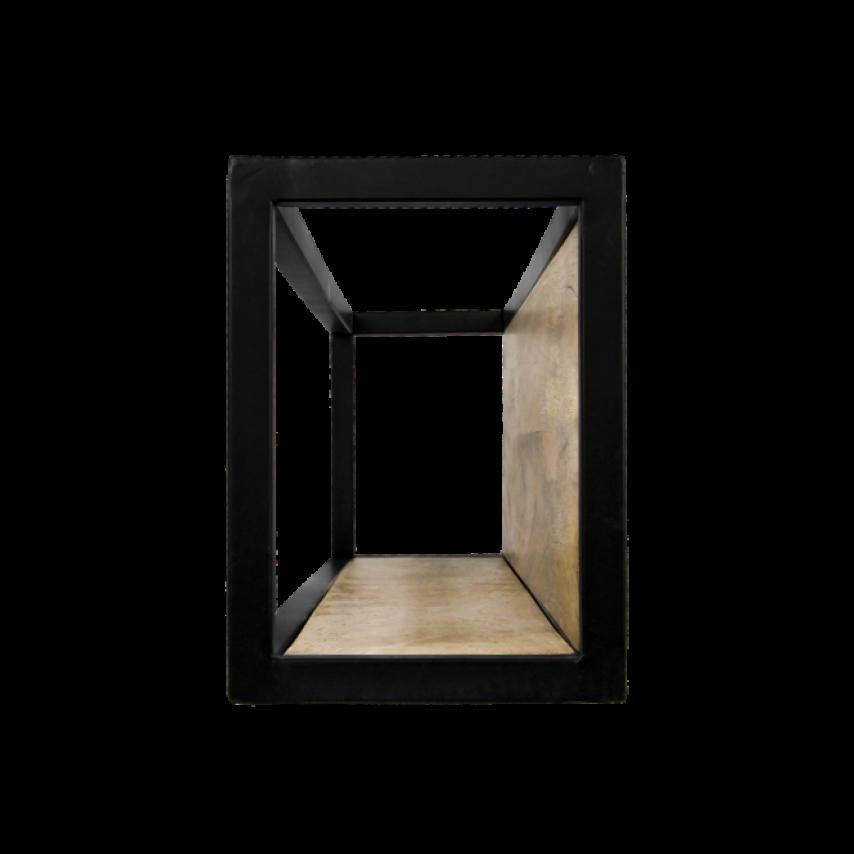 Wall Box Levels 55x25 cm Mango Wood