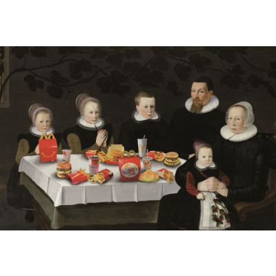 Poster Mc Donald Family | 40 x 60 cm