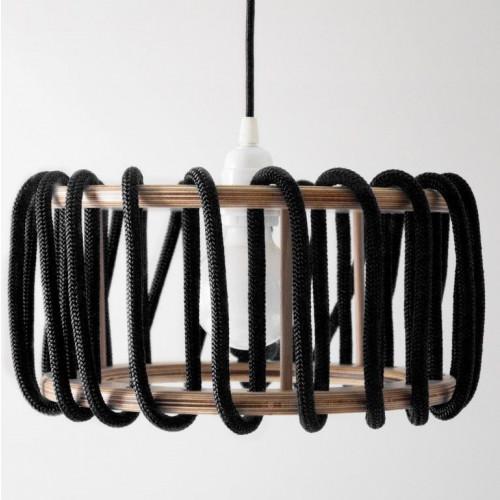 Macaron-Lampe   Schwarz-D30