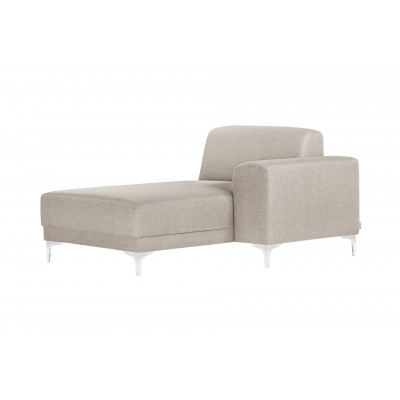 Lounge-Sofa Rechts Allegra   Creme