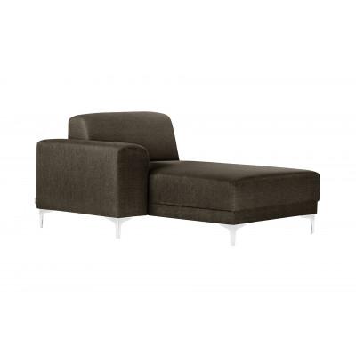 Lounge-Sofa Links Allegra   Haselnussbraun