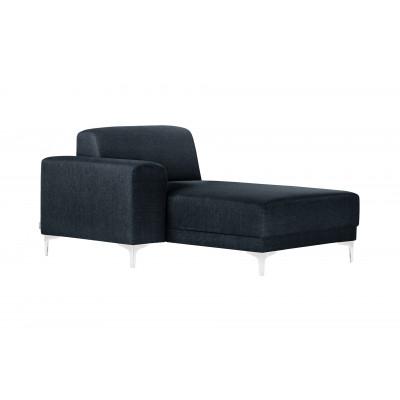 Lounge-Sofa Links Allegra   Marineblau