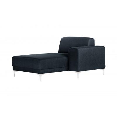 Lounge-Sofa Rechts Allegra   Marineblau