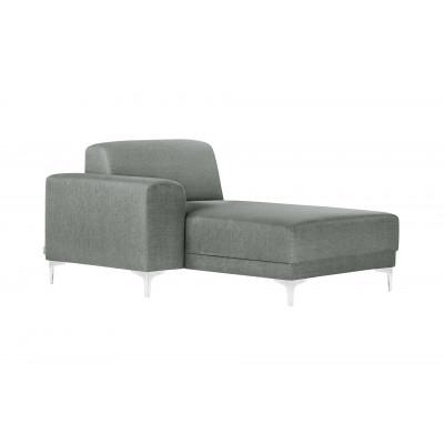 Lounge-Sofa Links Allegra   Grau