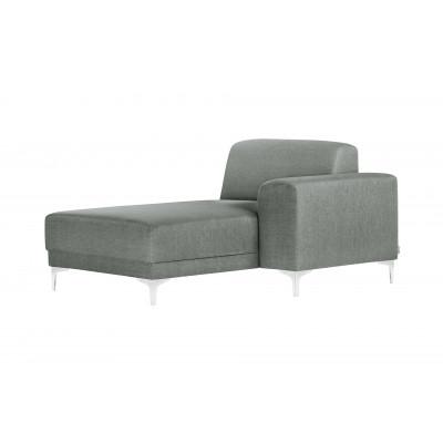 Lounge-Sofa Rechts Allegra   Grau