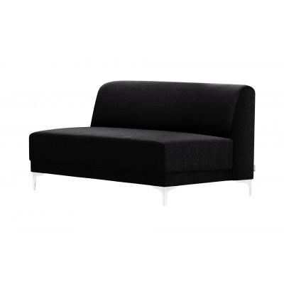 2-Sitzer-Sofa Allegra   Schwarz