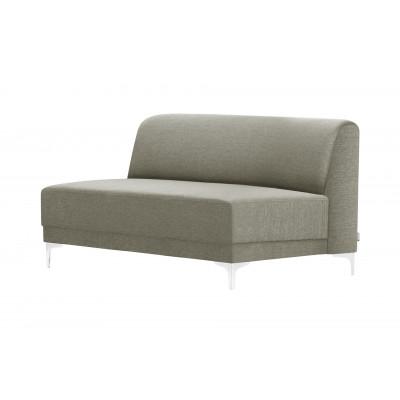 2-Sitzer-Sofa Allegra   Taupe